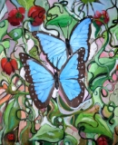 2 blue morphos